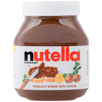 Nutella Hazelnut Spread 26.5 oz. Jar - 12/Case