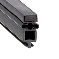 True 810993 Equivalent Magnetic Bottom Door Gasket - 24 5/8 inch x 25 7/8 inch
