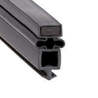 True 810717 Equivalent Magnetic Bottom Door Gasket - 24 1/4 inch x 30 1/8 inch