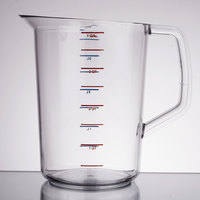 Rubbermaid FG321800CLR Bouncer 4 Quart Polycarbonate Plastic Measuring Cup