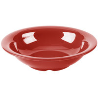 GET B-167-CR Diamond Harvest 16 oz. Cranberry Melamine Bowl - 24/Case