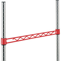 Metro H124F Flame Red Hanger Rail 24 inch