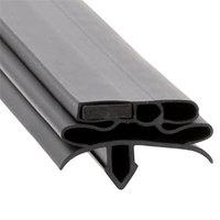 True 934755 Equivalent Magnetic Door Gasket - 25 3/8 inch x 26 31/32 inch