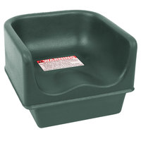 Cambro 100BC519 Green Single Height Plastic Booster Seat