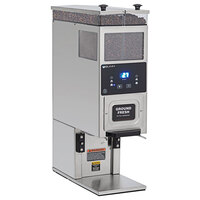 Bunn 33700.0000 BrewWISE G9-2T DBC Stainless Steel Double Hopper Portion Control Coffee Grinder - 120V