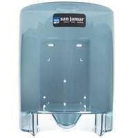 San Jamar T400TBL Center Pull Towel Dispenser - Arctic Blue