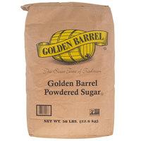 Golden Barrel 10X Confectioners Sugar - 50 lb.