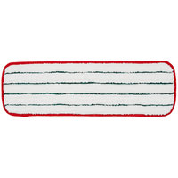 3M 59026 18 inch Red Easy Scrub Flat Mop Pad   - 10/Pack