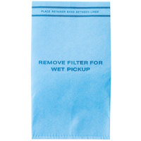 Workshop WS01025F2 2.5-5 Gallon Wet / Dry Vacuum Filter Bag   - 6/Pack