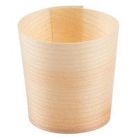 Tablecraft BAMDCP2 2 oz. Mini Wooden Disposable Serving Cup - 50/Case