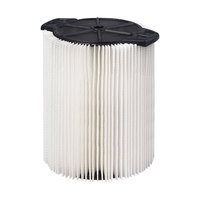 Workshop WS21200F2 5-16 Gallon Standard Wet / Dry Vacuum Filter - 2/Pack