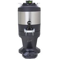 Curtis TFT1G3 FreshTrack 1 Gallon Thermal Stainless Steel Coffee Server with Base and Brew Through Lid