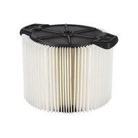 Workshop WS11045F2 3-4.5 Gallon Compact Standard Wet / Dry Vacuum Filter - 2/Pack