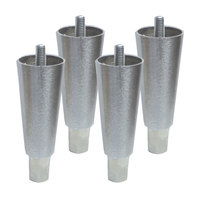 Continental Refrigerator 50203 6 inch Stainless Steel Legs