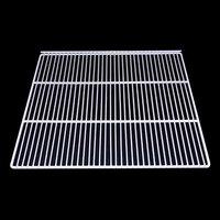 True 908803 White Coated Wire Shelf with 5 inch Standoff - 24 9/16 inch x 20 3/4 inch