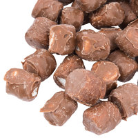 Milk Chocolate Mini Marshmallow Topping - 10 lb.