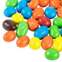 Peanut M&M's® Topping 38 oz. Bag   - 6/Case
