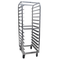 Advance Tabco PDB14 Full Size Mobile Aluminum Pizza Dough Box Rack
