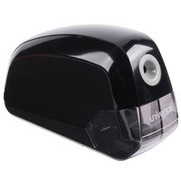 Universal UNV30010 Black Contemporary Design Electric Pencil Sharpener