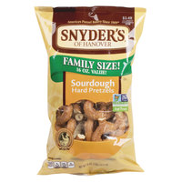 Snyder's of Hanover Sourdough Hard Pretzels 1 lb. Bag   - 12/Case