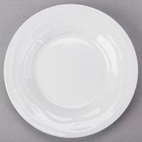 Tuxton GDP-060 TuxTrendz Sandbar 1.5 oz. Bright White China Oil Dish - 24/Case