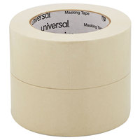 Universal UNV51302CT 2 inch x 60 Yards General Purpose Masking Tape - 24/Case