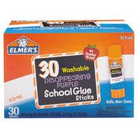 Elmer's EPIE555 0.24 oz. Disappearing Purple School Glue Stick - 30/Box