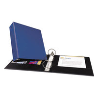Avery 3601 Blue Economy Non-View Binder with 3 inch Round Rings