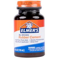 Elmer's EPIE904 4 oz. No-Wrinkle Rubber Cement