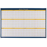 House of Doolittle HOD642 36 inch x 24 inch 12 Month Dry Erase Planning Board