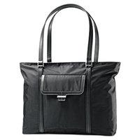 Samsonite 495731041 Ultima II 18 1/2 inch x 12 3/4 inch x 4 1/2 inch Black Top Loader Laptop Case / Tote Bag