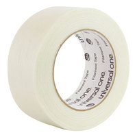 Universal UNV31648 2 inch x 60 Yards Clear 350# Premium Filament Tape