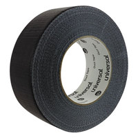 Universal UNV20048B 2 inch x 60 Yards Black General Purpose Duct Tape