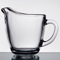 Anchor Hocking 64191B 4 inch Glass Creamer with Handle