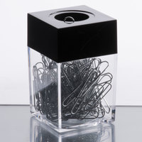 Universal UNV72211 #1 Standard Smooth Finish Paper Clips with Magnetic Dispenser - 1200/Case