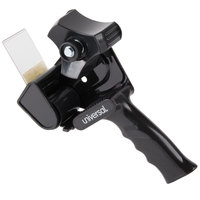 Universal UNV88000 3 inch Core Black Handheld Box Sealing Tape Gun Dispenser