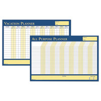 House of Doolittle HOD639 36 inch x 24 inch All-Purpose / Vacation Dry Erase Planning Board