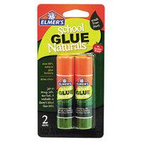 Elmer's EPIE5044 0.21 oz. Naturals Clear School Glue Stick - 2/Pack