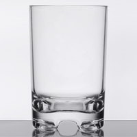 GET SW-1424-1-SAN-CL Roc N' Roll 12 oz. Customizable SAN Plastic Double Rocks / Old Fashioned Glass