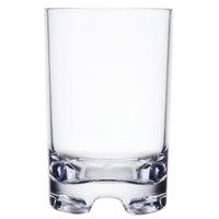 GET SW-1424-1-SAN-CL Roc N' Roll 12 oz. Clear SAN Plastic Squat Rocks Glass