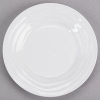 Tuxton GDP-061 TuxTrendz Sandbar 6.5 oz. Bright White China Fruit Dish - 24/Case