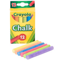 Crayola 510816 12 Assorted Colors Drawing Chalk