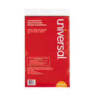 Universal UNV84630 9 inch x 14 1/2 inch Clear Laminating Pouch - 25/Pack