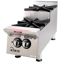 Star 802HA-SU Ultra Max 2 Burner Step Up Countertop Range / Hot Plate 60,000 BTU - 12 inch