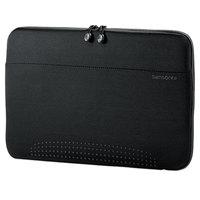 Samsonite 433211041 Aramon 15 3/4 inch x 10 1/2 inch x 1 inch Black Top Loader Laptop Sleeve