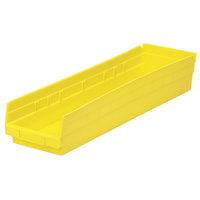 Metro MB30164Y Yellow Nesting Shelf Bin 23 5/8 inch x 6 5/8 inch x 4 inch