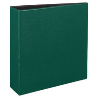 Avery 27653 Green Durable Non-View Binder with 3 inch Slant Rings