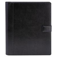Universal UNV32653 12 1/4 inch x 10 3/4 inch Black Vinyl Standard Pad Holder