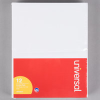 Universal UNV35615 5 inch x 8 inch Unruled White Scratch Pad 100 Sheets - 12/Pack