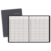 At-A-Glance 8031005 8 1/2 inch x 10 7/8 inch Four-Person Group Undated Daily Appointment Book with White Pages